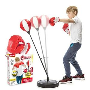 Whoobli Punching bag with gloves
